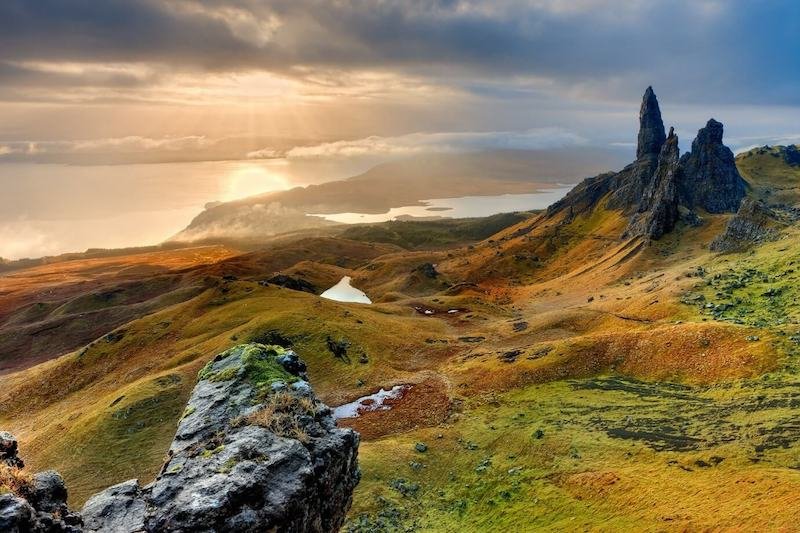 Landscape view of the Old Man of Storr - Visit Scotland