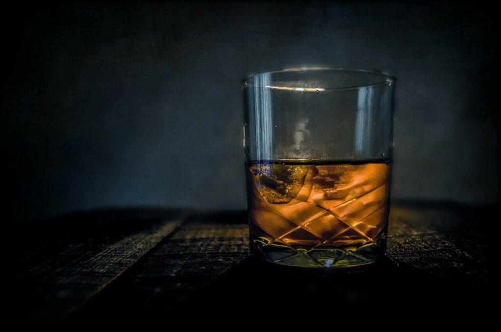 Glass of Scottish whisky
