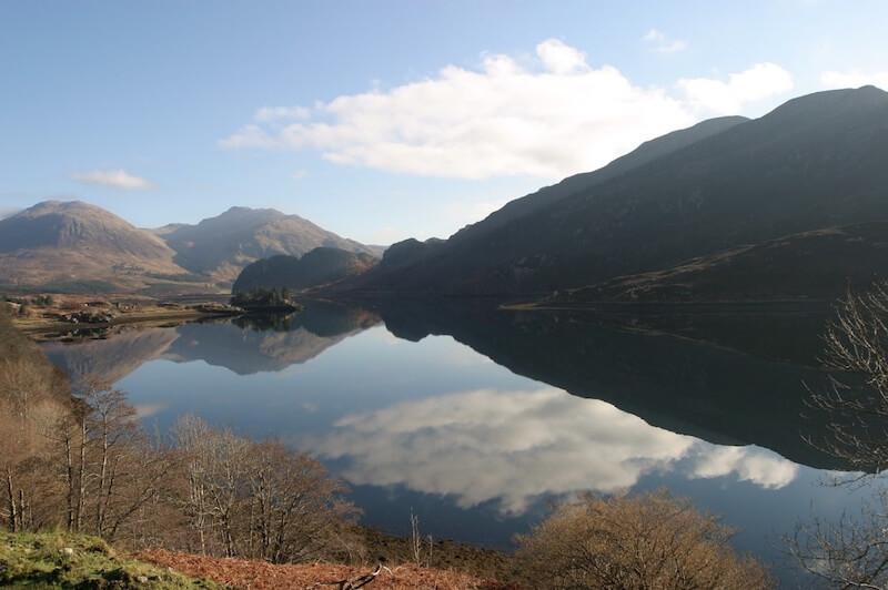 Scotland landscape during spring and summer