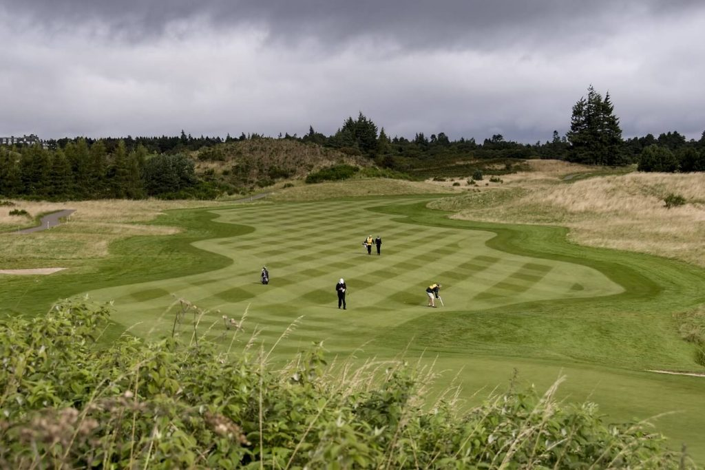 One of Gleneagles' championship golf courses