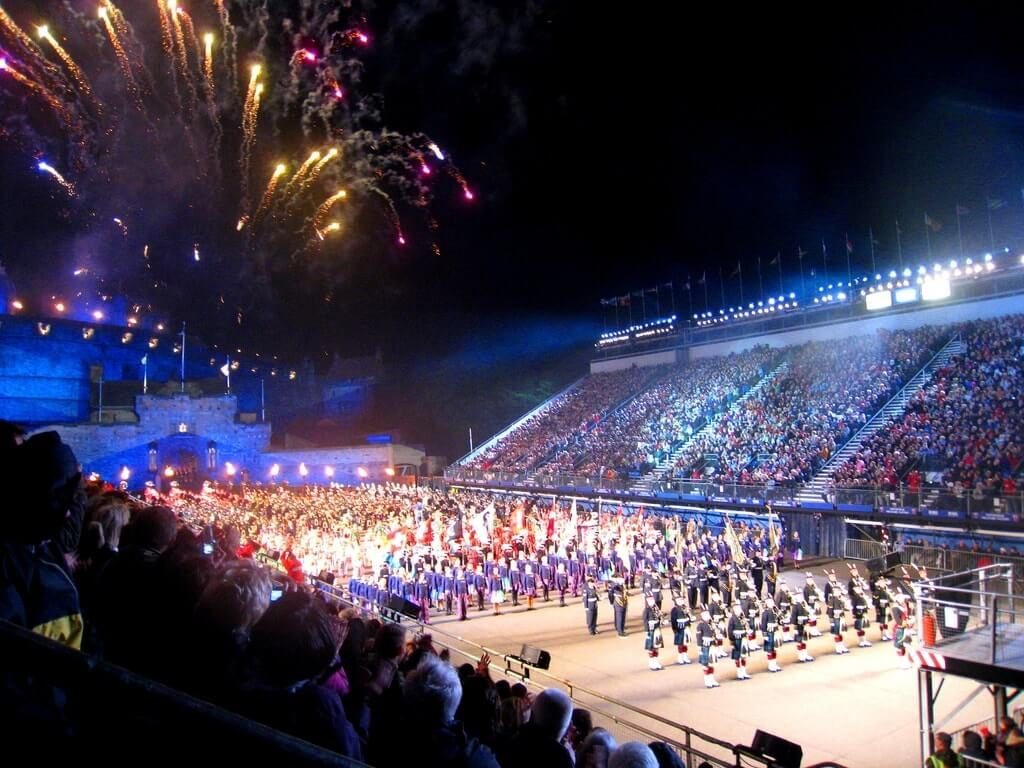 The Edinburgh Military Tattoo in 2009