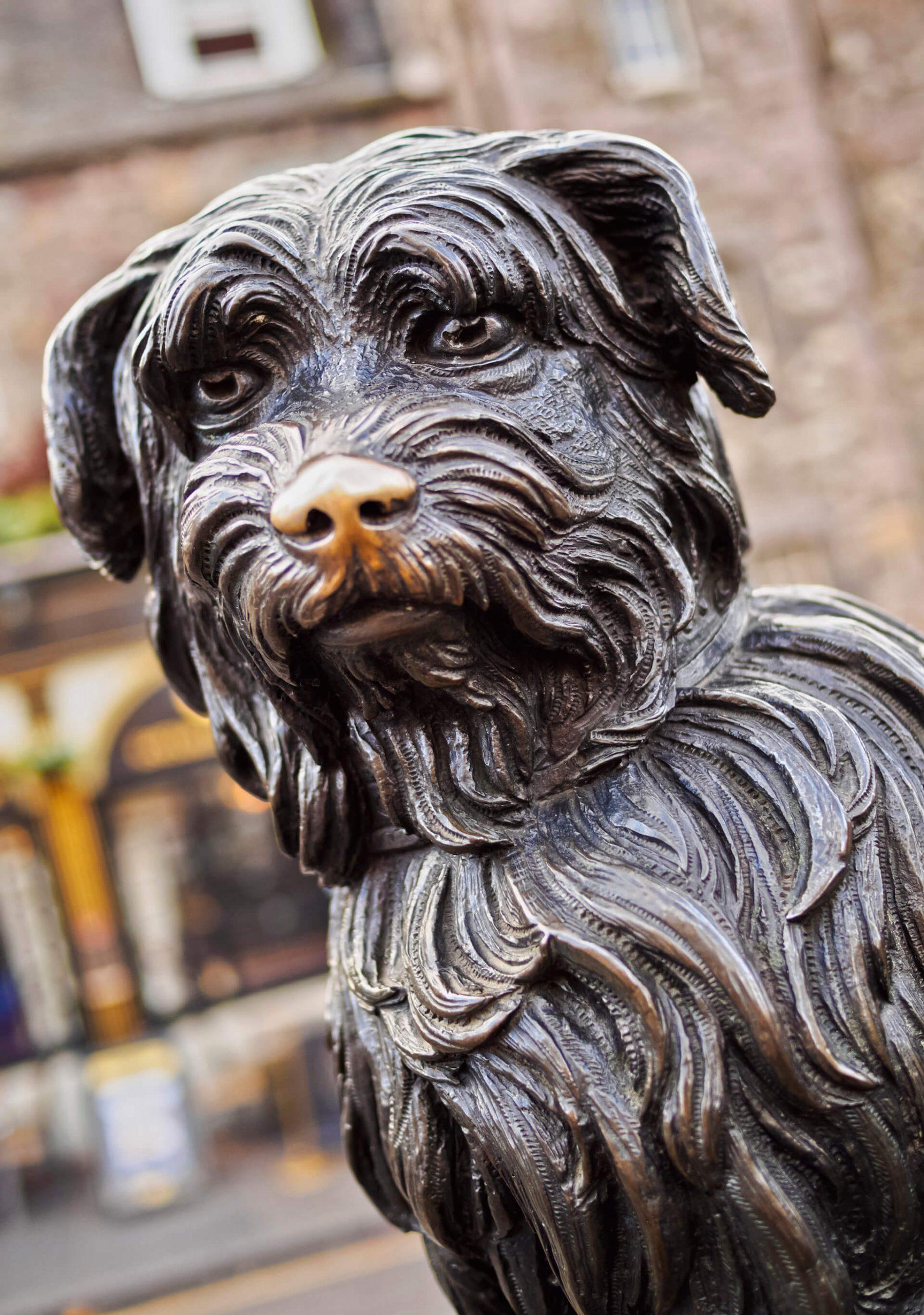 Greyfriars Bobby statue in Edinburgh   Inspiring Travel Scotland