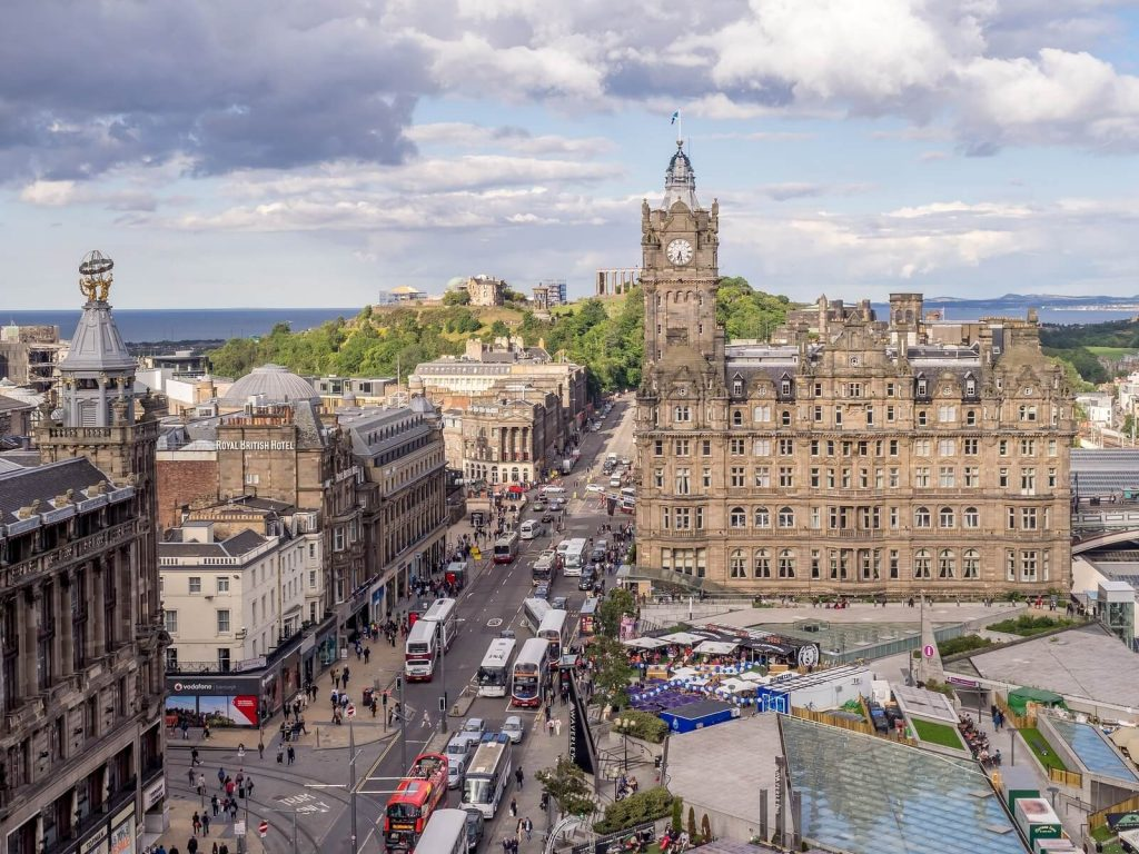 Balmora Hotel in Edinburgh