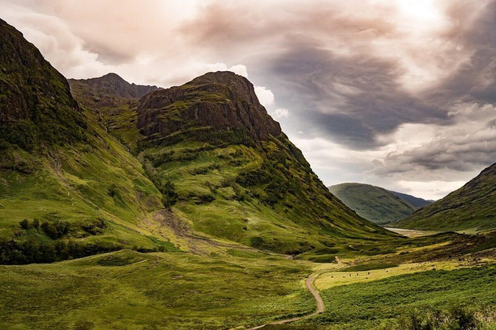 Glencoe in Scotland - Harry Potter locations