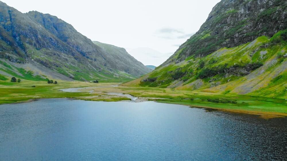 Glencoe Valley in the Scottish Highlands - Visit Scotland instead of England