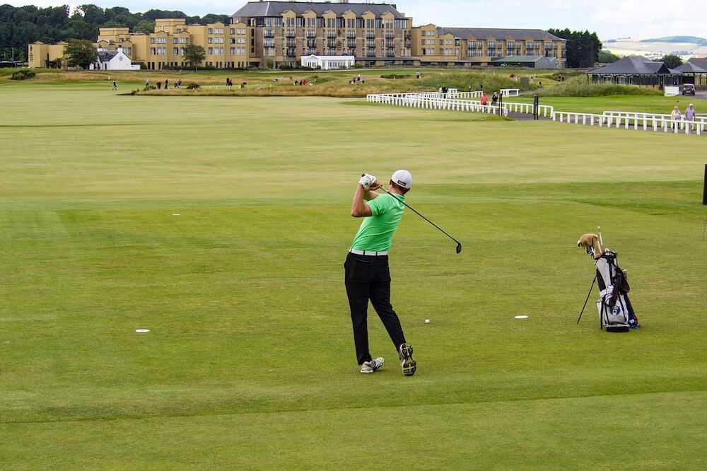 Scotland - Golf at St Andrews' Old Course