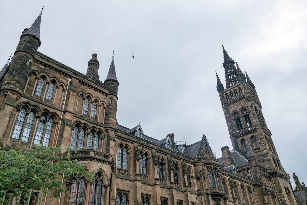 University of Glasgow, inspiration for Hogwarts