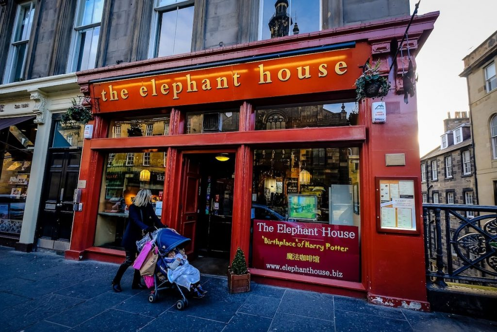 The Elephant House café
