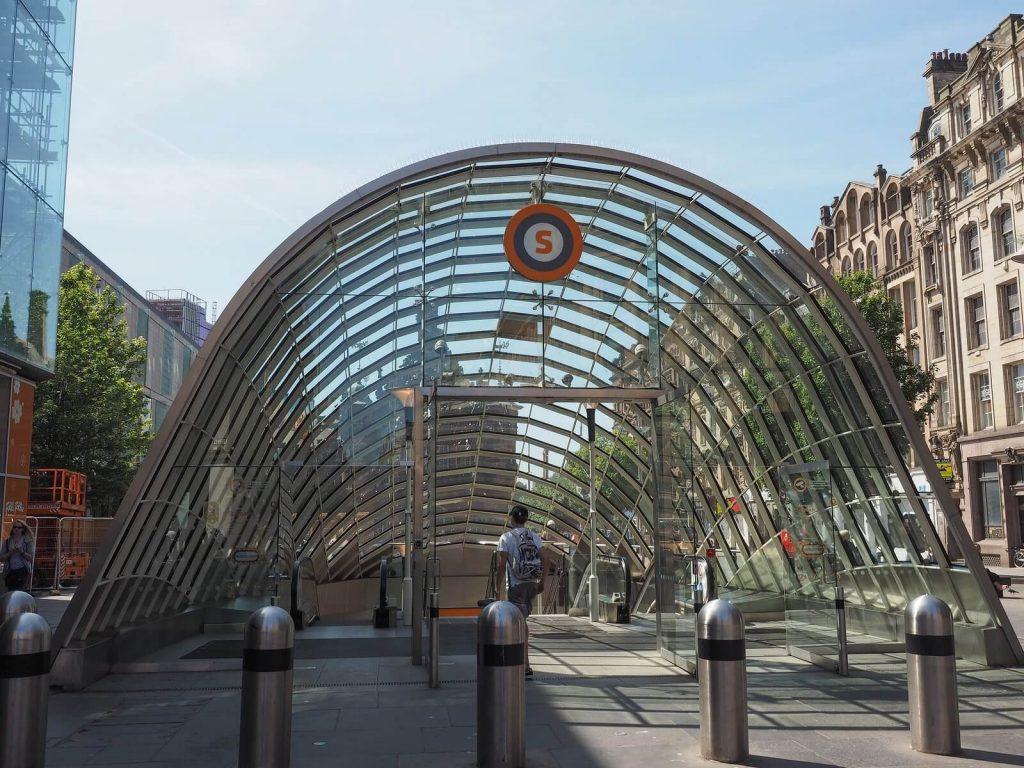 Glasgow Subway – St Enoch Subway Station