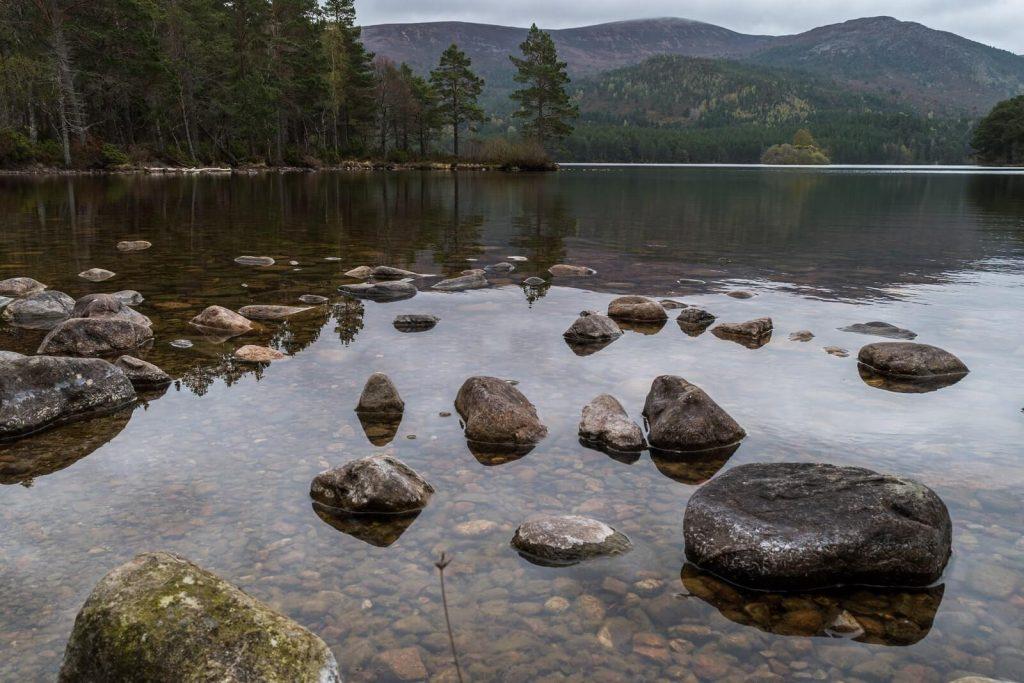Loch An Eilein, Near Aviemore on the Isle of Skye