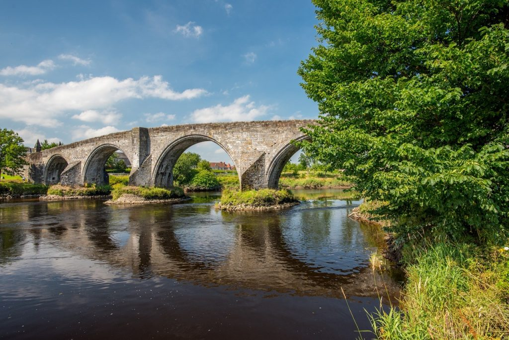 Stirling Bridge on a sunny day