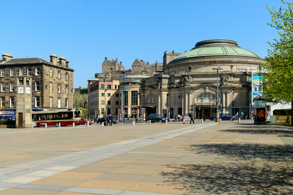 Edinburgh's Usher Hall – a popular venue for the festival