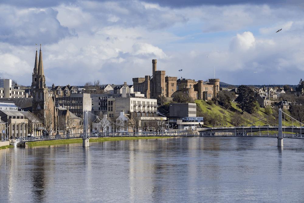 Inverness cityscape