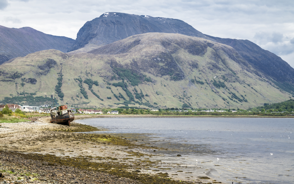 A view of Ben Nevis — the highest mountain in the UK