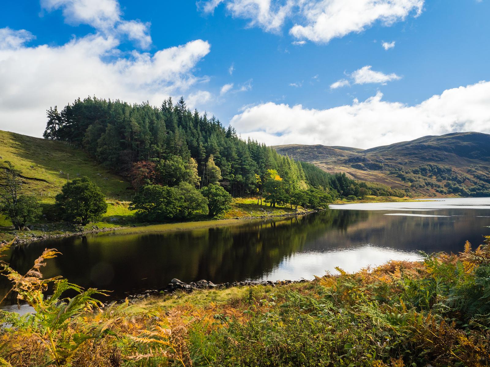 Loch Killin, in the Scottish Highlands