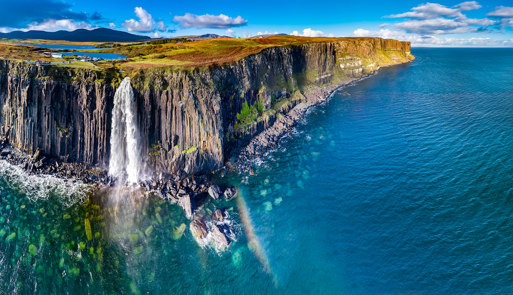 Kilt Rock Waterfall, Skye