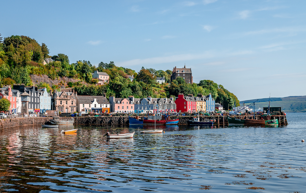 The Port Town of Tobermory, Mull
