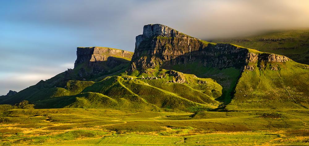 Trotternish Ridge of The Quiraing, Skye