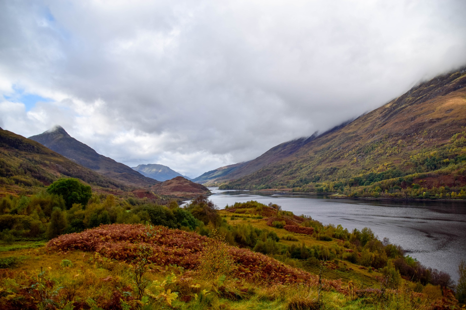 Scottish Highlands in Autumn