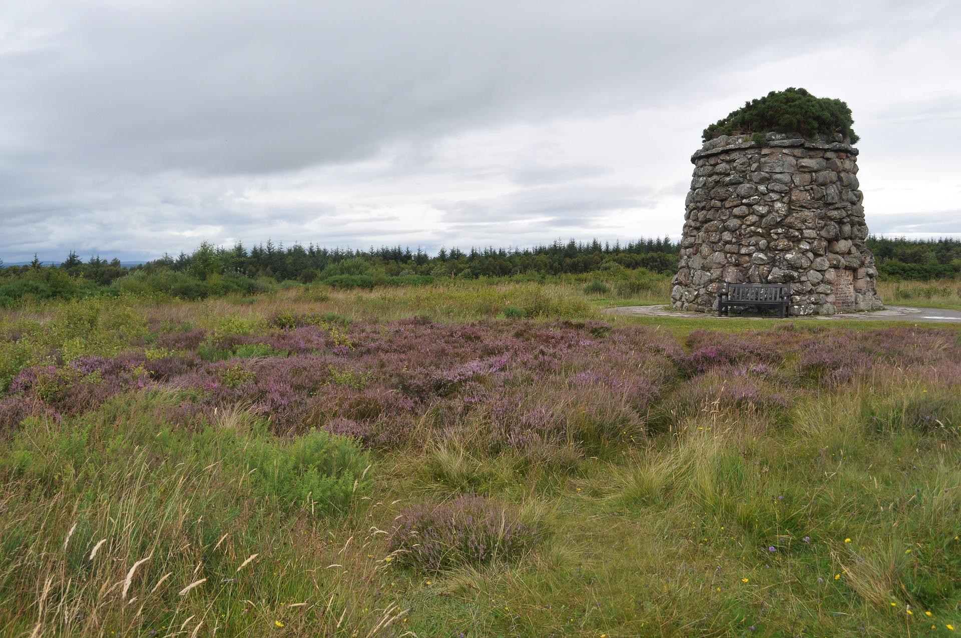 Culloden Moor memorial