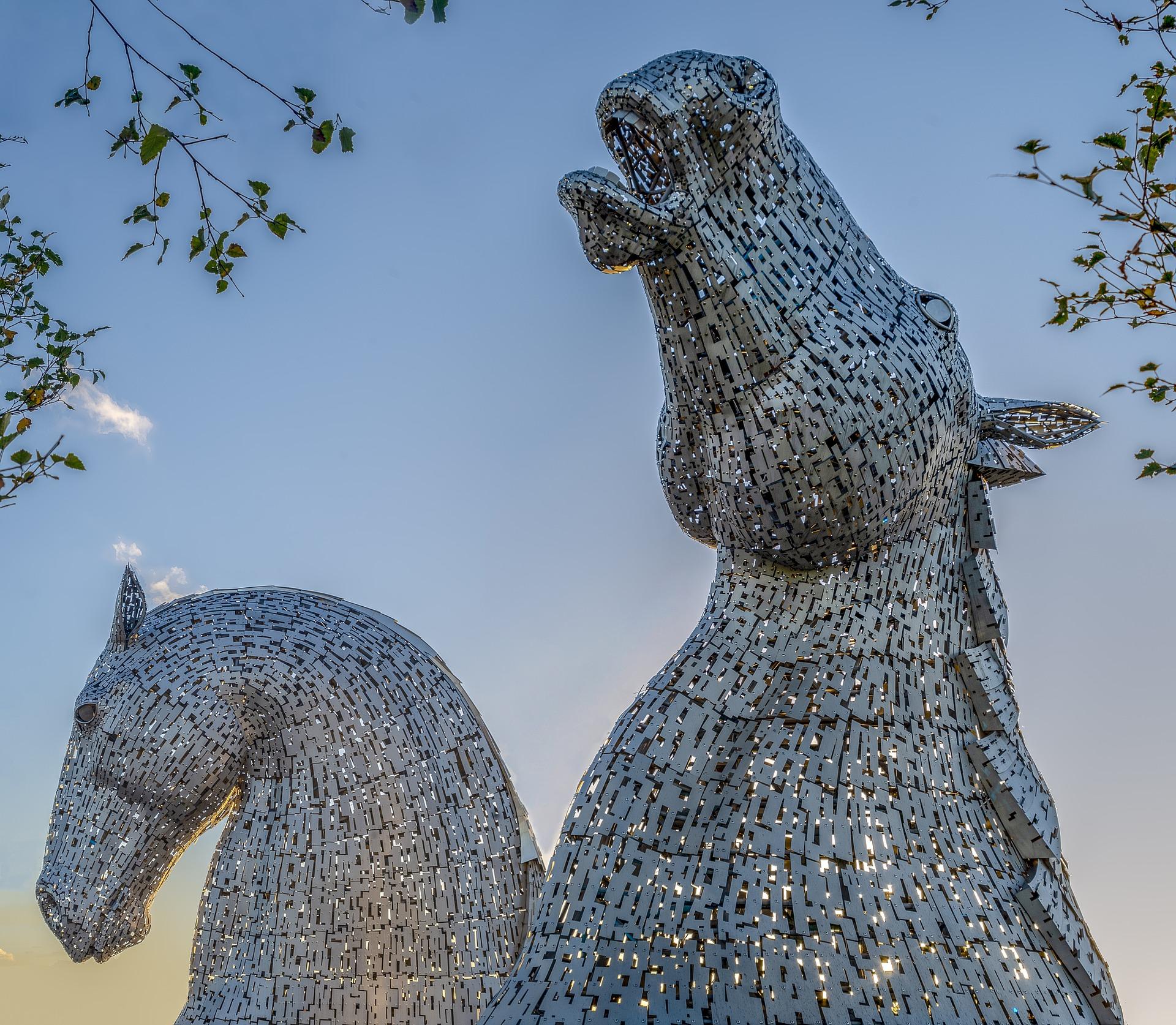 Kelpies Scotland